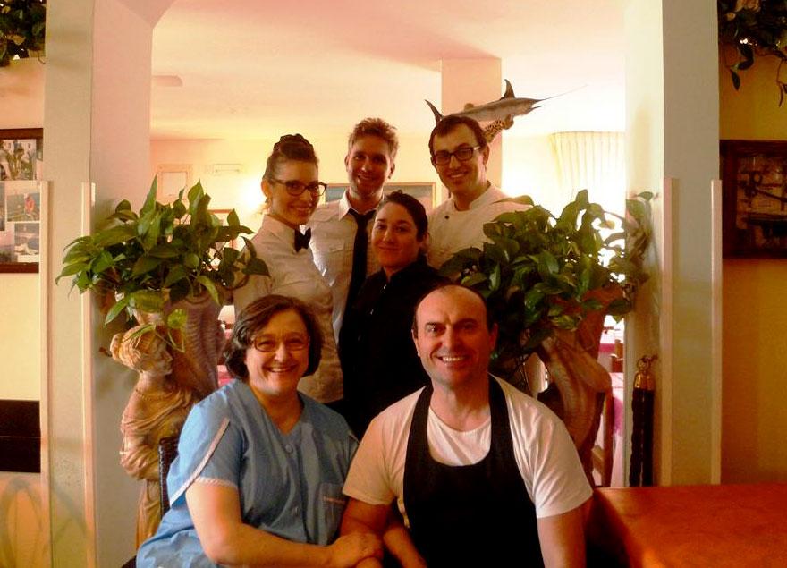 Hotel ristorante Marinella: Hotel sul mare a Fano